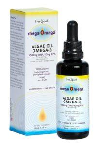 MegaOmega Algae Oil